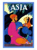 Persia Garden Plakater af Frank Mcintosh
