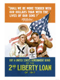 2nd Liberty Loan Art