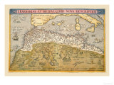 Map of Northern Africa Photo by Abraham Ortelius