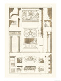 Ionic Capitals Prints by J. Buhlmann