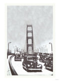 The Golden Gate Bridge, San Francisco, California Posters