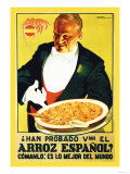 Arroz Espanol Prints by Vorin 