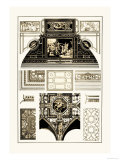 Cloister-Vaults and Coved Ceilings Print by J. Buhlmann