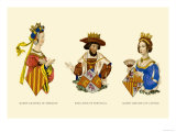 King John, and the Queens Leonora and Johanna Posters by H. Shaw