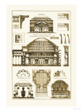 Roman Domical Vaulting Premium Giclee Print by J. Buhlmann