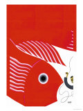 The Fish-Kite No Title Posters by Frank Mcintosh