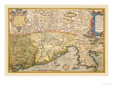 Map of Southern Europe Posters by Abraham Ortelius