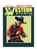 Western Story Magazine: Gun Hand Prints