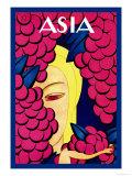 Persian Low Hanging Grapes Plakater af Frank Mcintosh