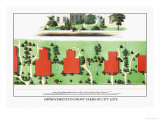 Improvements in Front Yards of City Lots Posters by J. Weidermann
