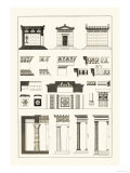 Hellenic Chapel and Decorative Forms Prints by J. Buhlmann