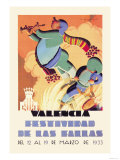 Valencia Festividad Posters by  Molla