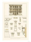 Palazzo Vendramin-Calergi at Venice Print by J. Buhlmann