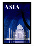 In Agra Print by Frank Mcintosh