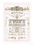 Villa Sacchetti, Villa Papa Giulio at Rome Prints by J. Buhlmann