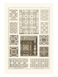 Ceilings with Bays and Mouldings Posters by J. Buhlmann
