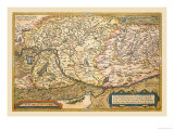 Map of Eastern Europe Posters by Abraham Ortelius