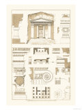 Tomb of Amyntas and Temple of Athena Polias Prints by J. Buhlmann