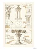 Monument of Lysicrates at Athens Prints by J. Buhlmann