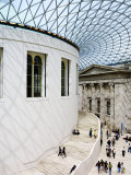Inside the British Museum Great Court Photographic Print by  xPacifica