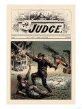 Judge: Tyranny Premium Giclee Print