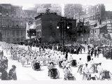Parade near City Hall, Philadelphia, Pennsylvania Poster