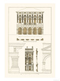 Palazzo Verzi at Verona, Palazzo Madama Prints by J. Buhlmann