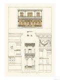 Palazzo del Consiglio at Padua, Villa Farnesia Posters by J. Buhlmann
