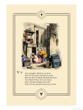 Little Lily&#39;s Alphabet: Very Naughty Children Poster by Oscar Pletsch