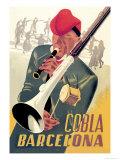 Cobla Barcelona Prints by Francesco Fabregas