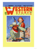 Western Story Magazine: They Ruled the West Prints