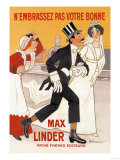 Max Linder Movie Poster Posters