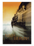 Berlin by Night Posters