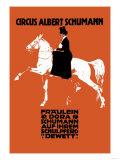 Circus Albert Schumann Poster