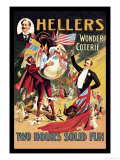 Heller's Wonder Coterie Print by Adolph Friedlander