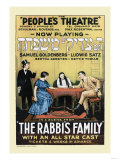 The Rabbi's Family Premium Giclee Print