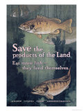 United States Food Administration Advisory: Save the Products of the Land Art by Charles Livingston Bull
