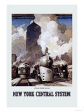 New York Central System Prints by Leslie Ragan