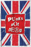 Punks Not Dead Kunstdrucke