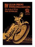 4th International Barcelona Grand Prix Affiches