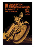 4th International Barcelona Grand Prix Premium Giclee Print