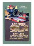 U.S. Food Administration Advisory Posters by L.n. Britton