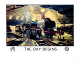 The Day Begins Premium Giclee Print