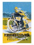 4th Motorcycle Circuit of Tortona Posters