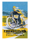 4th Motorcycle Circuit of Tortona Posters