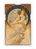 Painting Poster by Alphonse Mucha