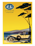 Delage, Out for a Drive Print