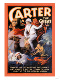 Carter the Great: Secrets of the Sphinx Posters