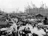 Hog Island, Shipbuilding Yards, Philadelphia, Pennsylvania Posters