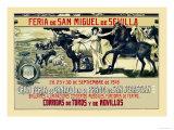 Sevilla Feria de San Miguel Posters by Grant Hamilton